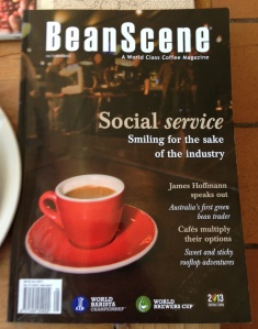 Cover of BeanScene magazine
