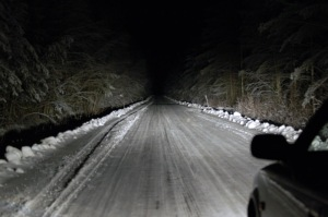 Winter road by Scoo, creative commons licensed.