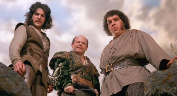 Vizini, the giant and Inigo