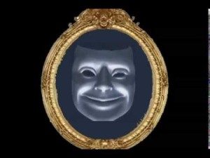 Picture of a magic mirror