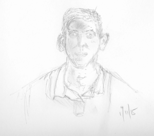 Self portrait November 2015